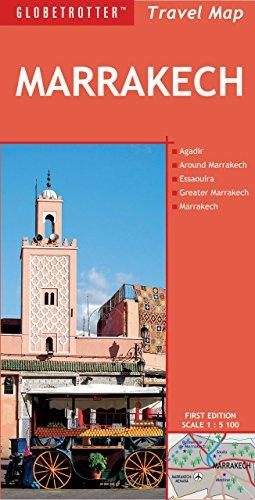 Marrakech (Globetrotter Travel Map) por Globetrotter