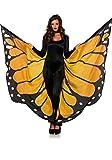 Leg Avenue Disfraz Festival Butterfly Wing de mariposas alas Naranja