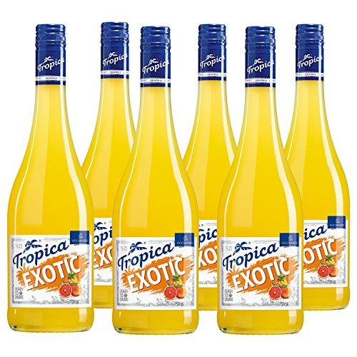 KATLENBURGER Tropica Exotic 6 x 0,75 l, fertig gemischter Cocktail aus 70 % Fruchtwein, 5 % Orangensaft und 3 % Ananassaft, mit Kohlensäure und 7% vol. 4001486049008