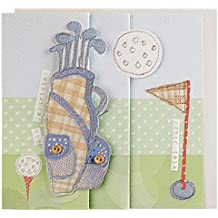 Geburtstagskarte Golf handmade