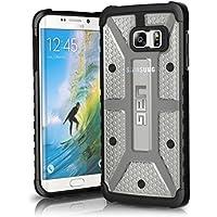 Urban Armor Gear UAG-EDGEPLS-ICE-VP - Funda para Samsung Galaxy S6 Edge Plus, color plata y negro
