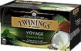 Twinings Voyage - Brazilian Baia - Schwarzer Tee mit Vanille-, Kokosnuss- und Kakaosamen - Süßer und Samtiger Geschmack - Erinnert an die Paradiesischen Brasilianischen Atmosphären (50 Beutel)