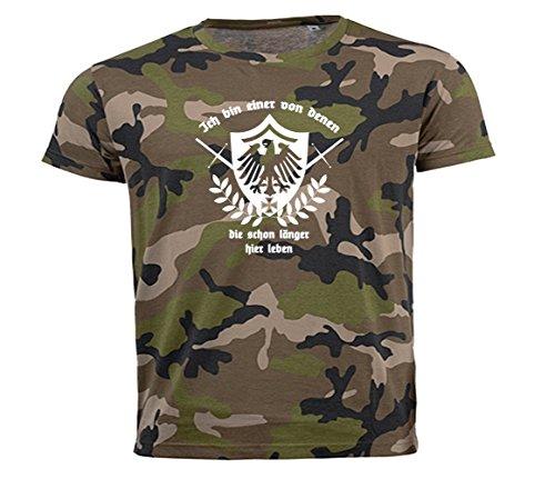 Ich Bin Einer von denen, die Schon länger Hier Leben Deutschland T-Shirt t_camo2 L
