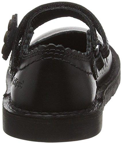 Kickers Adlar Petal 2 Infants - Mary Jane da ragazza Black (Black)