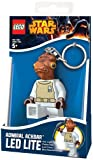 Lego Star Wars Mini Flashlight with Keychains Admiral Ackbar