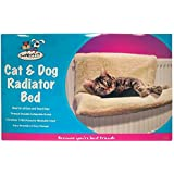 Invero® Cat Dog Puppy Pet Radiator Bed Warm Fleece Beds Basket Cradle Hammock Animal