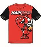 pritelli 1833026/10–11Marc Marquez 93Moto GP Large Ant Niños Camiseta Oficial 2018, Rojo