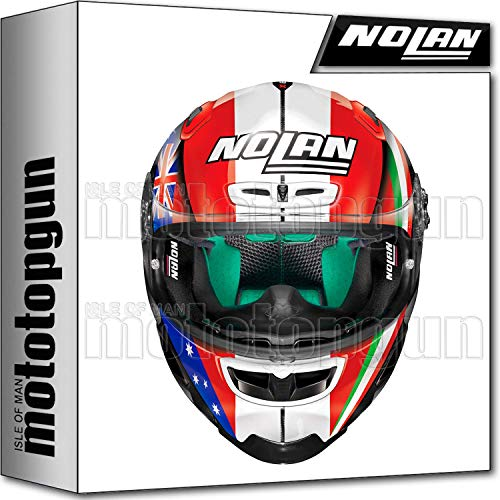 X-LITE CASCO MOTO INTEGRALE X-803 ULTRA CARBON REPLICA C. STONER TOGETHER 026 L