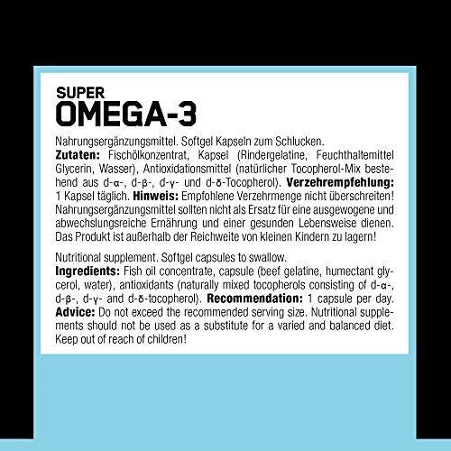 ESN Super Omega-3, 60 Kaps. - 3