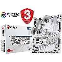 MSI B360 GAMING ARCTIC - Placa Base Performance Gaming (LGA 1151, 2 x PCI-E 3.0 x 16 slots, 4 DIMMS, 5 x SATA) blanco