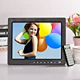"Epyz HD Ready Digital Photo Frame with Fully Functional Remote (10"" inch, Black)"
