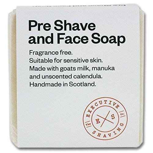 Rasieren Milch (Executive Shaving Ziegen-milch Vor Dem Rasieren Seife 100g Riegel)