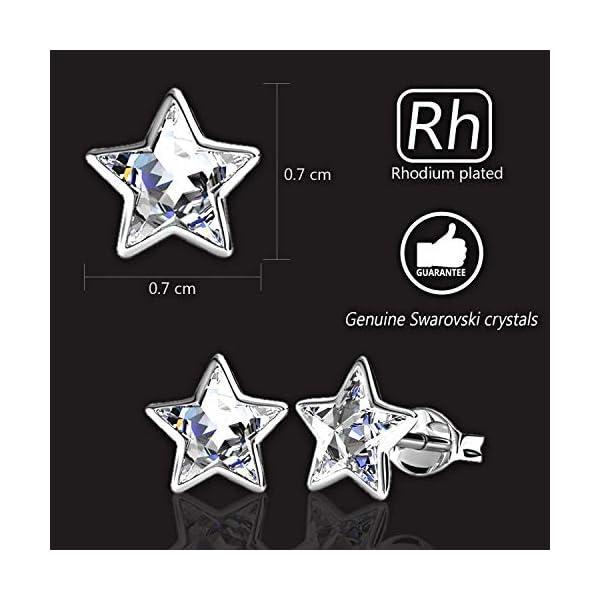 3dc4baf700f76 Swarovski Star Earrings (Clear)