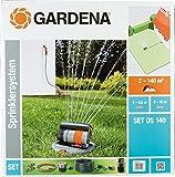 Format 4078500822206–Sprinklersystem Set mit Viereckregner OS140