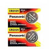 #2: Panasonic CR2025-3V - 2 Battery