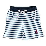 SALT AND PEPPER Baby-Jungen Shorts B Bermuda Pirat Stripe Blau (Strong Blue 465), 86