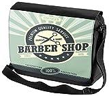 Borsa Tracolla Ufficio Laboratorio negozio di barbiere Stampato