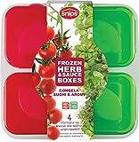 Snips Gefrierbehälter-Set für Soßen und Kräuter 0,4 Liter