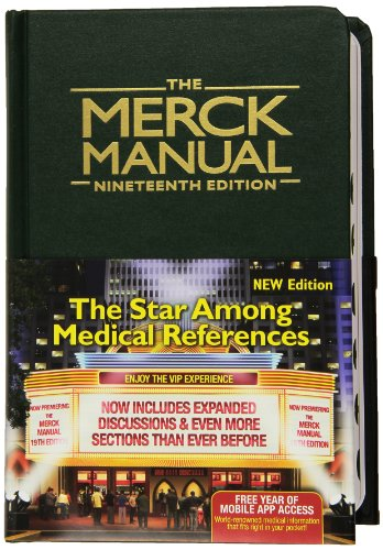 The Merck Manual of Diagnosis and Therapy, 19e