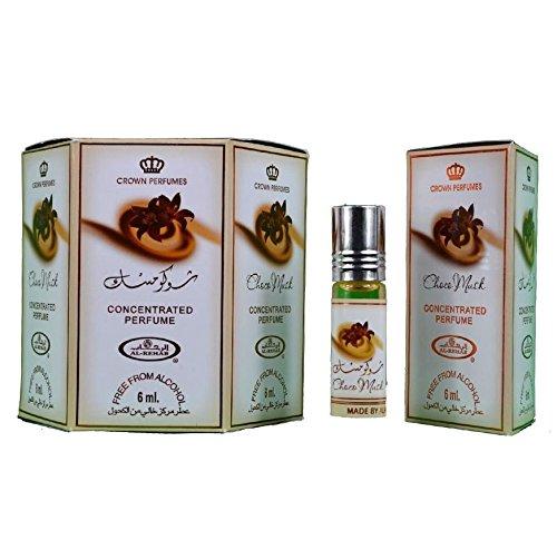 PSS Al rehab - choco musk parfüm Öl - 6 x 6ml
