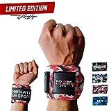 Power Athletics Gym Limited Edition Handgelenk Bandagen mit Handschlaufe - Profi Wrist Wraps ohne lästige Daumenschlaufe - Für Kraftsport, Bodybuilding, Crossfit & Fitness - Für Damen & Herren