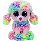 TY - Beanie Boos Rainbow, caniche, 15 cm, multicolor (United Labels Ibérica 37223TY)