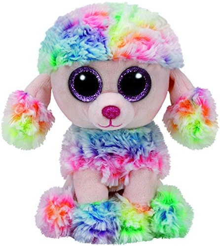 ty-beanie-boo-plush-rainbow-the-poodle-15cm