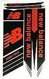 #8: New Balance Cricket Bat Sticker Color Black & Red