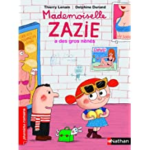 Mademoiselle Zazie a des gros nénés