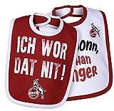 1. FC Köln Babylätzchen/Lätzchen ** Rut/Wieß ** 2er Set