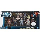 Star Wars A0791 Ewok Super Set - Flitchee, Nanta, Teebo, Kneesaa, Tippet