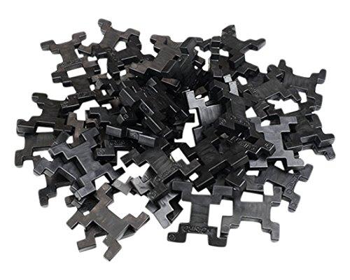 incastro Rígida 014N-Juegos de construcción rígida Cube, L 60Unidades, Negro