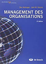 Management des organisations de Don Hellriegel