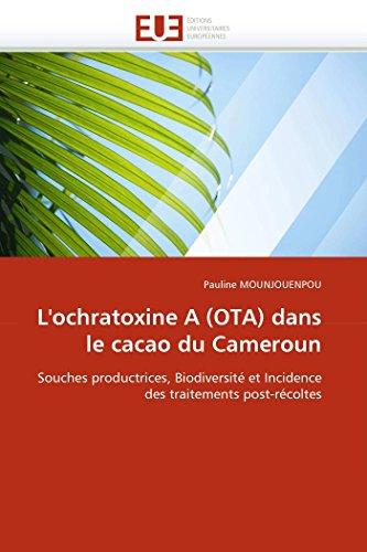 L''ochratoxine a (ota) dans le cacao du cameroun