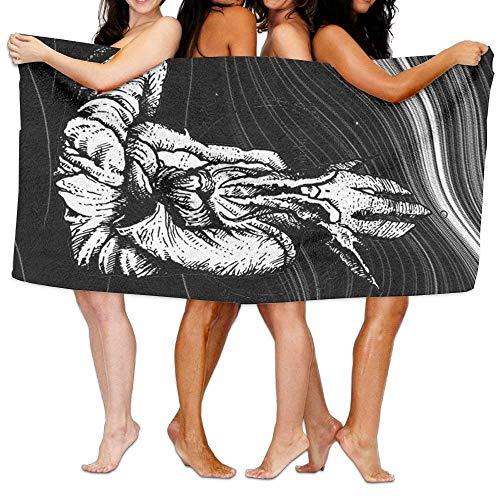 xcvgcxcvasda Badetuch, Soft, Quick Dry, Beach Towel The Alien Monk 80