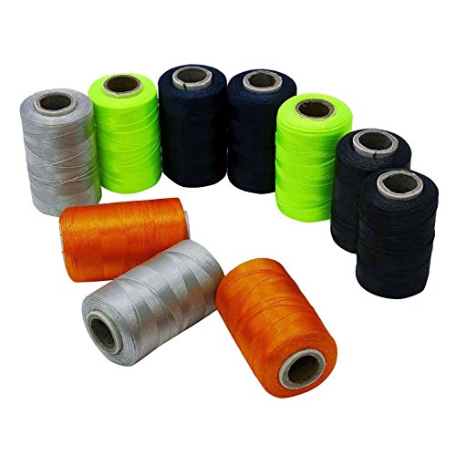 Polyesterfaden Stickerei-Nähmaschine von 10 Spulen Nähen Bastelset (Indien Nähmaschine)