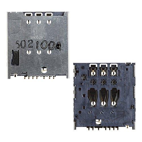 BisLinks® Marke Neu SIM Reader Karte Halter Ersatz Teil Für Motorola Moto G XT1033 Razr Phone Tool