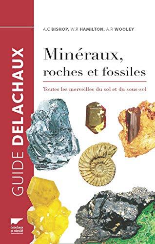 Minéraux, roches et fossiles. Toutes les merveilles du sol et du sous-sol par Arthur clive Bishop