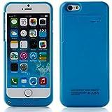 """ZOGIN para iPhone 6 / 6s 4.7"""" 3200mAh Funda de Batería Externa / Funda Protectora Cargador / Funda de Batería Integrada Recargable de Alta Capacidad con Soporte de Móvil Plegable, Color Azul"""
