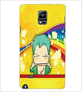 PrintDhaba Cartoon D-5794 Back Case Cover for SAMSUNG GALAXY NOTE 2 (Multi-Coloured)