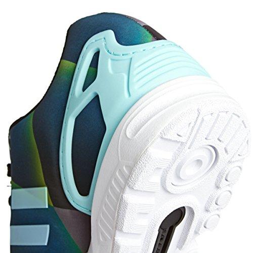 adidas Originals 'ZX Flux' Sportschuhe Blau (Blau/Grün/Grau)