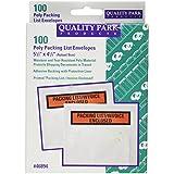 "Top-Print Self-Adhesive Packing List Envelope, 5 1/2"" x 4 1/2"", 100/Box"