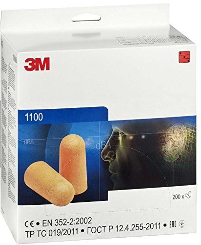 3M Foam Earplug 1100 - 200 tapones de oido