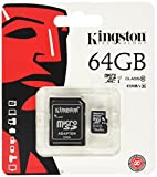 Kingston SDCX10 Micro SDHC 64GB Class 10 Speicherkarte