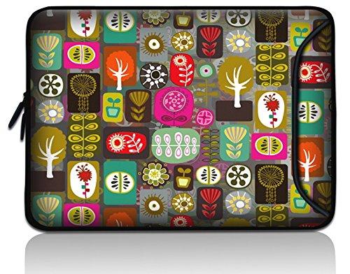 New Designed stoßfest wasserdicht 17,8cm Zoll Tablet PC eBook Reader universal Sleeve Tasche, der Haut, mit extra Vordertasche für Alcatel One Touch T10Tab/EVGA Tegra Note 7.0/Archos A7077C Home, 70Cobalt Titanium - Karte-laptop-hülse
