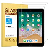 apiker Lot de 3 Verre Trempé Compatible pour iPad 9,7 Pouces (modèle 2018 et 2017...