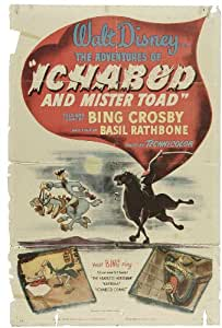 The Adventures of Ichabod and Mr. Toad Poster Movie 11 x 17 In - 28cm x 44cm Bing Crosby Basil Rathbone Eric Blore J. Pat O'Malley