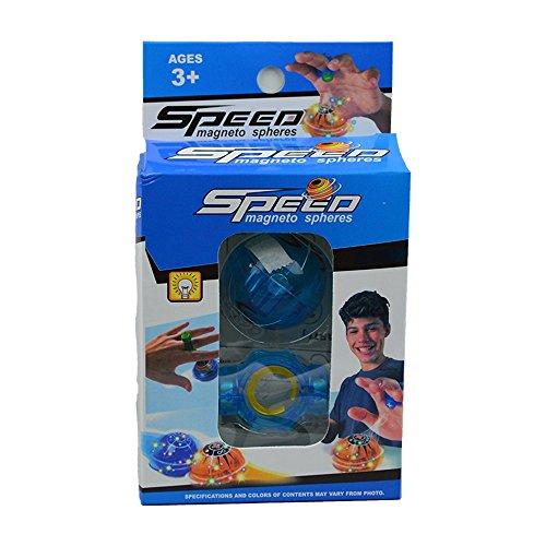 TORG TRADING Fingerspielzeug Magnet Ball – Speed Ball – Magnetosphere Ball mit LED -...