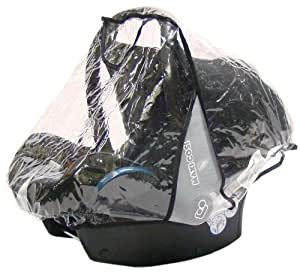 Baby Travel Carseat Rain Cover for Maxi Cosi Cabrio and Pebble Family Fix