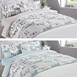 Dreamscene Complete Duvet Cover with Pillowcase Bedding Set Runner Sheet Love Sweet Love